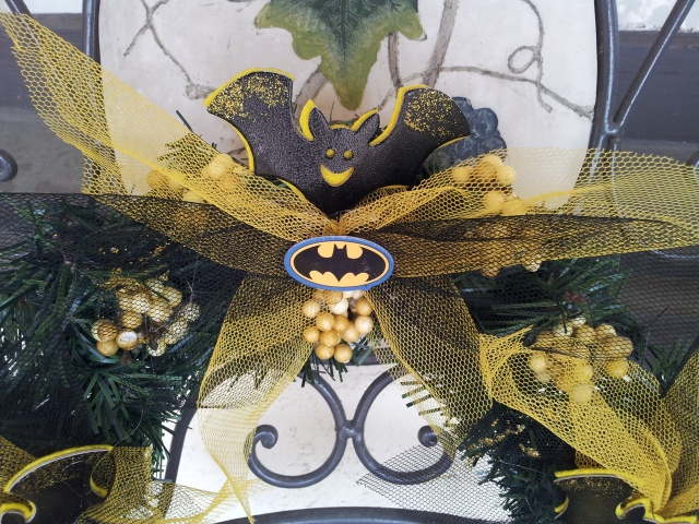 Batman Wreath