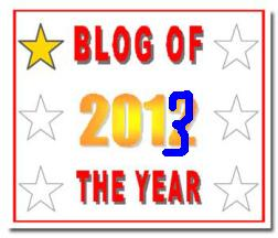 Blog of the Year Award 1 star - modified