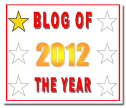Blog of the Year Award 1 star