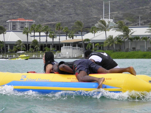 Vyvacious || Banana Boating in Hawaii
