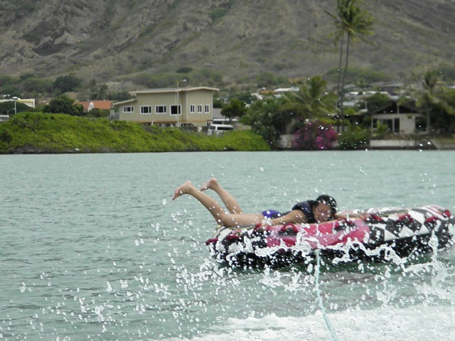 Vyvacious || Inter-tubing in Hawaii