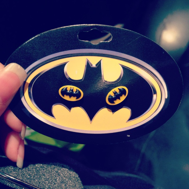 Vyvacious || Batman earrings