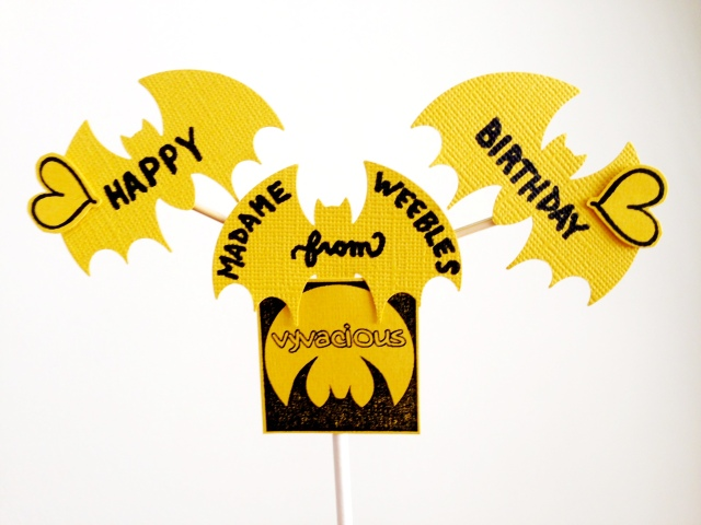 Vyvacious || Madame Weebles' Birthday Sign