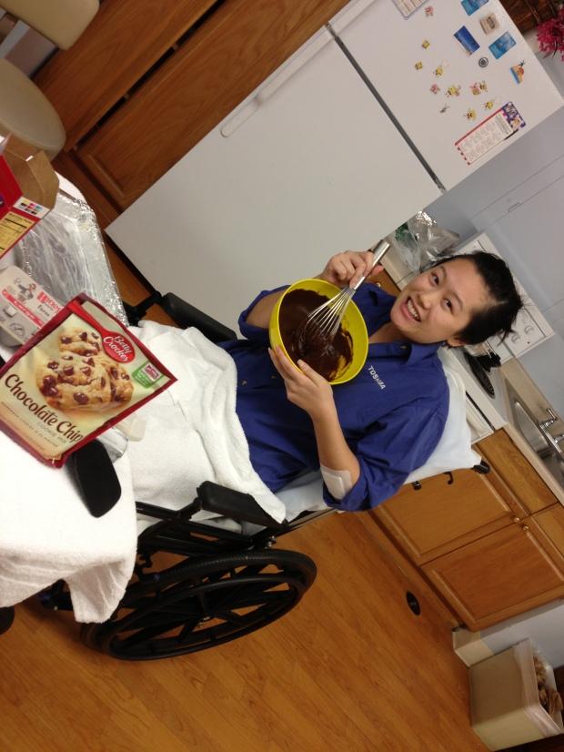 Sooo happy to be baking!